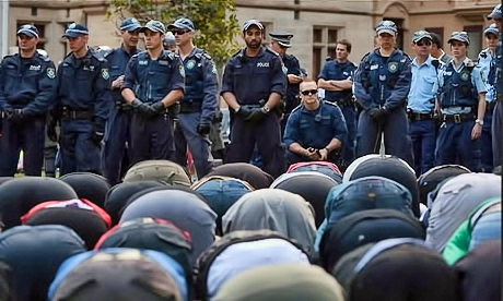 muslimprotestinsydney