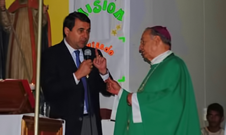 Paraguay president interrupts paraguay bishop homily on Genetically modified crops
